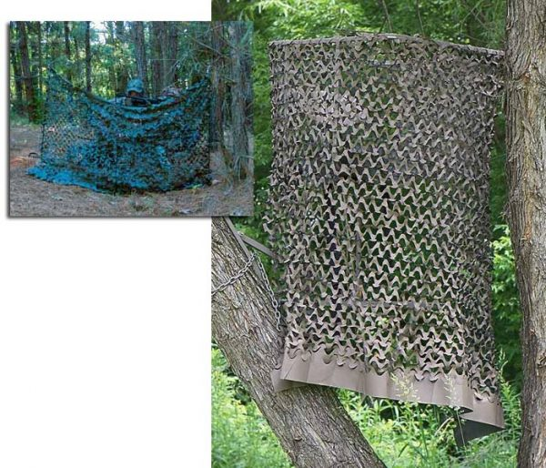 "Leafcut Hunting Ground Blind, 1-Man Ladder Tree Stand or Tripod (6' x 57"")"