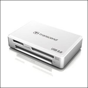 Transcend USB 3.0 Super Speed Multi-Card Reader For Hunting and Scouting Cameras