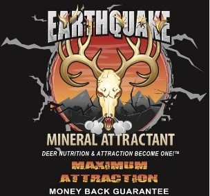 Earthquake Mineral Attractants for Bow Hunters