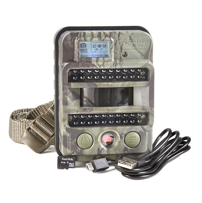 Recon HS110 Dark IR Trail/Game Camera